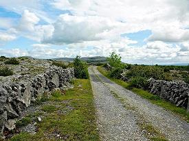 "Une ""Green Road"" au Burren"