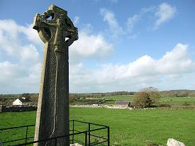 Haute croix à Kilfenora