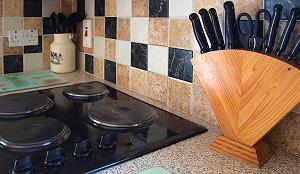 L'équipement de la cuisine de haute qualité
